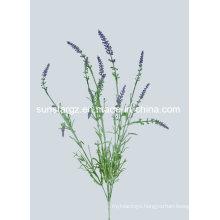 Artificial Plant PE Frosted Lavender for Home Decoration (48917)