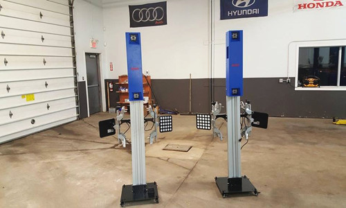 Convenient Mobile Wheel Alignment