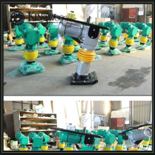 Hand operated earth compaction equipment vibrating tamper