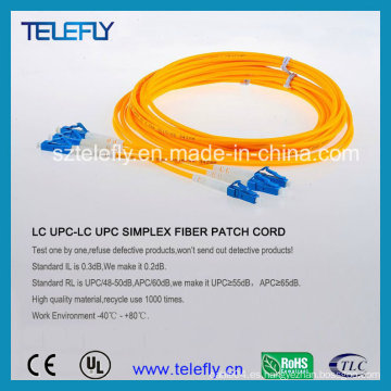 LC-LC cable de cable de remiendo