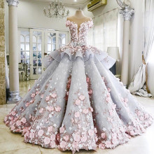 Robe de mariage romantique en gros, robe de mariée, robe de mariée AS 044