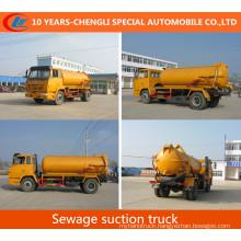 Shacman 4X2 Sewage Suction Truck 10cbm Vacuum Suction Truck