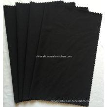 Schwarzer Nylon Spandex Stoff für Sportbekleidung (HD1401034)