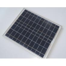 Módulo PV cristalino polivinílico del panel solar 40W con Ce FCC 10 años de garantía