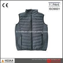 Mens Light Weight Waistcoat Nylon Down Puffer Vest