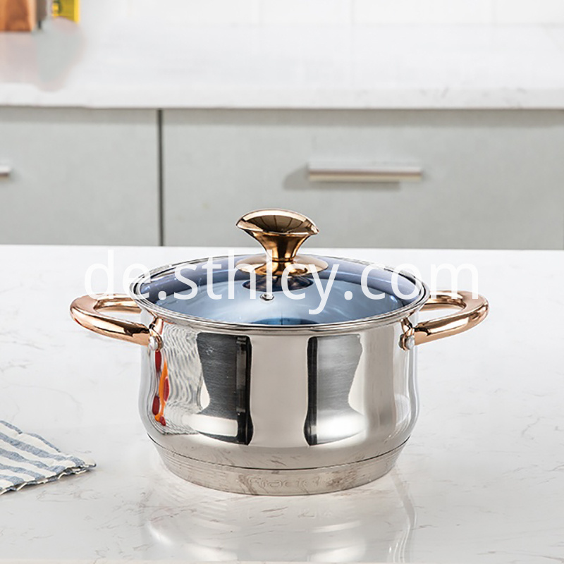 Hot-selling wholesale stainless steel belly pot set