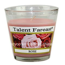 Soy Scented Rose Jar Candle