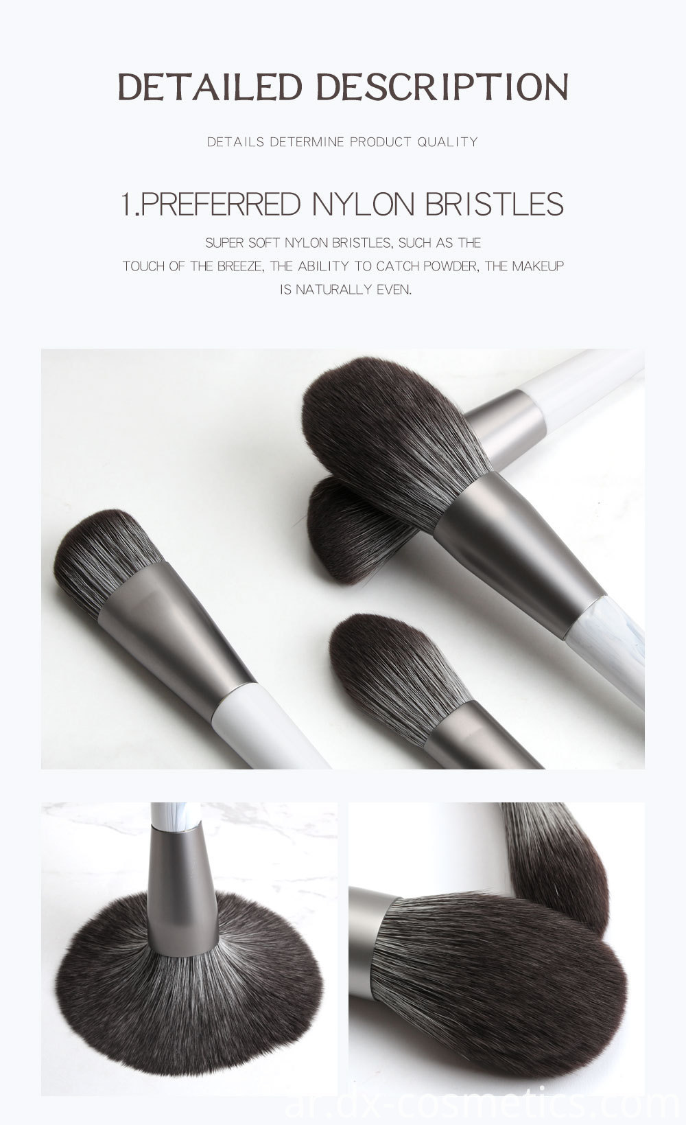12 Piece Bunch Flower Makeup Brushes 3