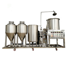 50L/100L micro beer brewery equipment for sale