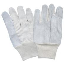 Rindspaltleder Handgestrickter Index Handschuh