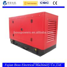 Types de générateur d'énergie électrique avec moteur Perkins 26KW 1800 tr / min