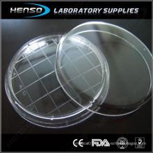 Prato de Petri estéril 65x15mm com área de contagem