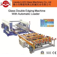Máquina de afiação dupla de vidro de controle PLC Ce