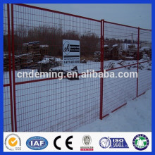 DM powder coating Anping factory price Canada temporary fence