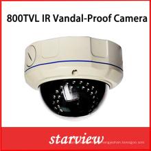 800tvl IR Vandal Proof CCTV Dome caméra de sécurité (D14)