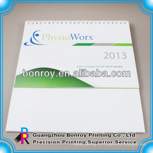 Calendarios de escritorio imprimibles en papel 2014