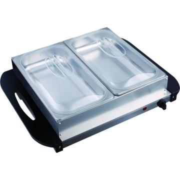 2 Pan Buffet Server และ Warming Tray