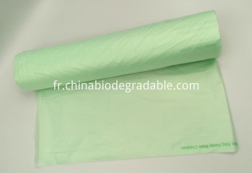 Biodegradable Outdoor Clear Trash Bags