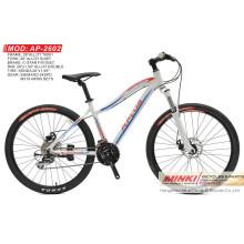 Aleación 26 '' 24 bicicletas de la montaña de la velocidad Alivio (AP-2602)