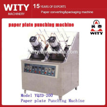 Disposable paper dish plate forming machine