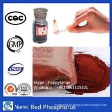 Rojo-Fósforo Reactivo de laboratorio Polvo retardador de llama Fósforo rojo