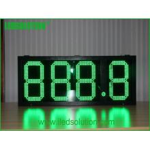 Fornecimento de Fábrica 888.8 15 polegadas Dígitos Formato Preço de Gás Display LED