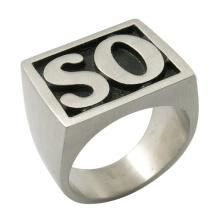 Hijo de la anarquía anillo de acero de la joyería de la manera así que anillo
