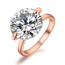Bague de serviette en diamant Big Solitaire de luxe pour mariage pour mariage