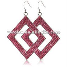 2012 Hot Sale belle pendentif en acier inoxydable carré avec prix d'usine