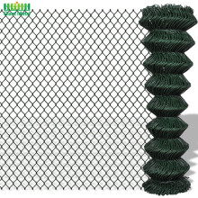 Field Galvanized Steel Wire Products Chain Link Fence