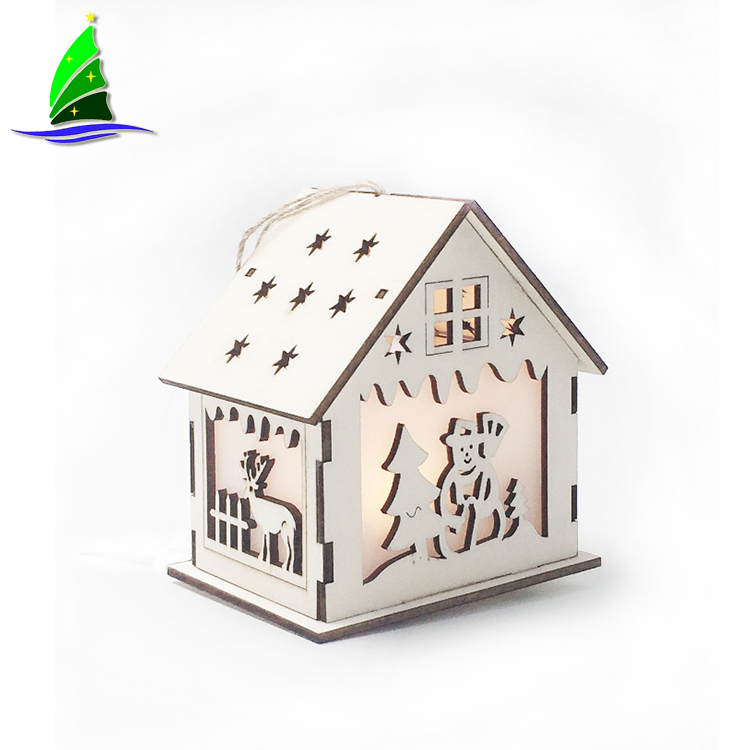 Wooden Houses Ornaments