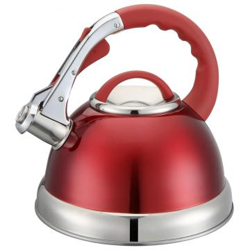 Rutschfeste Kappe des Red Whistling Kettle