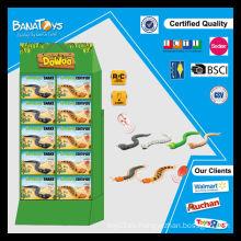 Funny 3 funciones juguete pdq caja RC serpientes de juguete