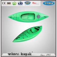 No Inflatable Kayak Single Plastic Sit in Sport Kayak