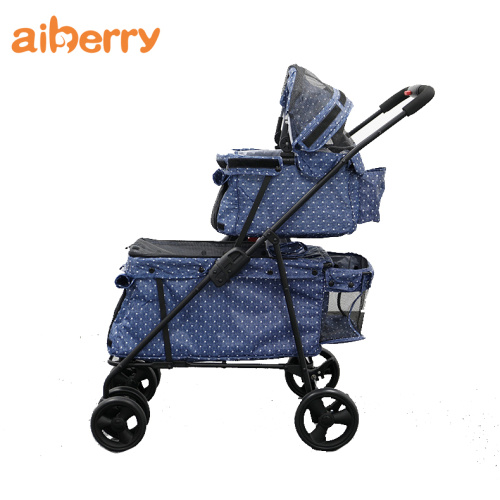 Hot Selling Double Decks Pet Carrier Spacerówka