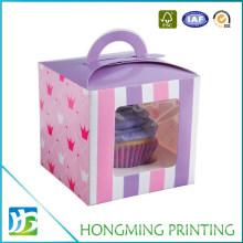 PVC Window Paper Cardboard Cake Boxes