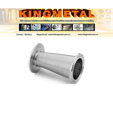 3A Ss304/316L Stainless Steel Food Grade Eccentric / Concentnic Pipe Reducer.