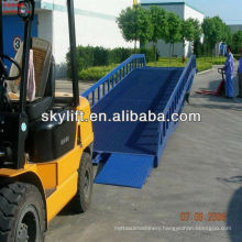 Commodity shelf, hydraulic container unloading ramps sale