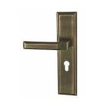 Maçaneta da porta em liga de zinco fundida