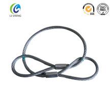 Elevator steel hoist wire rope