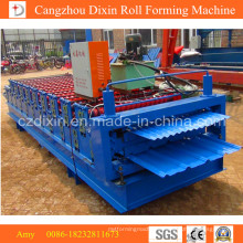 Metal Galvanized Dual Level or Double Layer Roofing Sheet Roll Forming Machine