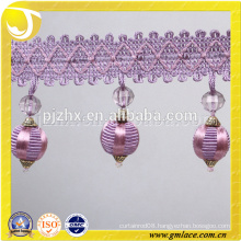 handbag decorations ball fringe
