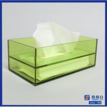 Boîte à papier en caoutchouc acrylique