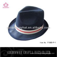 Chapeau noir de Fedora Hat