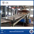Maquinaria rígida de la protuberancia de la hoja de la techumbre acanalada del PVC