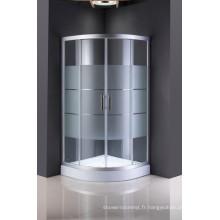 Écran de douche en verre bon marché de cabine de douche