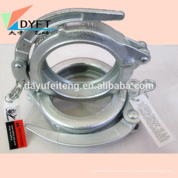 Hohe qualität schmieden Betonpumpe Durable sichere verriegelung rohr snap clamp Kupplung