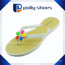 Raw Materil Slipper Colorful Decoration Girls Flip Flop