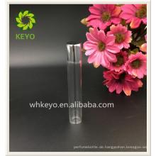 8 ml 10 ml 12 ml Heißer verkauf hohe qualität transparent farbige leere parfüm kosmetik verpackung glas roll auf flasche