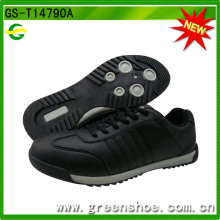 Neue Ankunfts-schwarze Männer beiläufige Schuhe